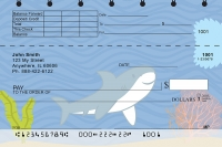 Click on Happy Shark Top Stub Personal Checks For More Details