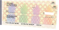 Click on Pineapples Side Tear Personal Checks For More Details