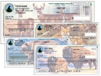 Click on National Wildlife Federation Wildlife - 1 box - Duplicates Personal Checks For More Details