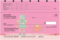Click on Robot Friends Top Stub Personal Checks For More Details