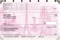Click on Bonjour Paris Top Stub Personal Checks For More Details