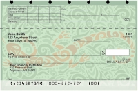 Click on Swirl Art Top Stub Personal Checks For More Details