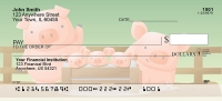 Click on Happy Animal Family Personal Checks For More Details