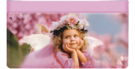 Click on Angel Faces Checkbook Cover For More Details
