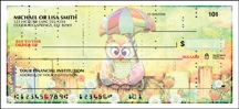 Click on Owls Animal - 1 Box Personal Checks For More Details