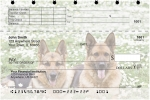 Click on German Shepherd Top Stub Personal Checks For More Details