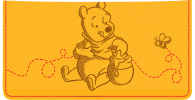 Click on Disney Pooh & Friends Checkbook Cover For More Details