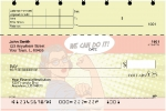 Click on Girl Power Top Stub Personal Checks For More Details