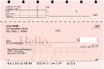 Click on Hello, Gorgeous Top Stub Personal Checks For More Details