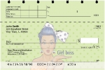 Click on Girl Boss Top Stub Personal Checks For More Details