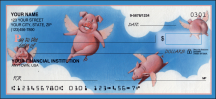 Click on When Pigs Fly Animal - 1 Box Personal Checks For More Details