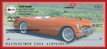 Click on Corvette Recreation - 1 Box Personal Checks For More Details