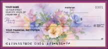 Click on Pansies Garden - 1 Box Personal Checks For More Details
