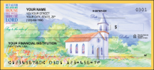 Click on Country Churches - 1 Box Personal Checks For More Details