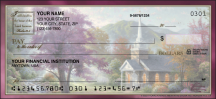 Click on Churches by Thomas Kinkade Scenic - 1 Box Personal Checks For More Details