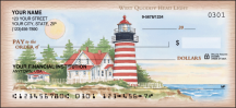 Click on Lighthouses Scenic - 1 Box Personal Checks For More Details