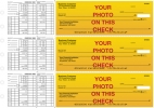 Click on Custom Photo Payroll Business Checks For More Details