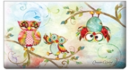 Click on Owls Checkbook Covers For More Details