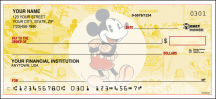Click on Vintage Mickey - Singles Personal Checks For More Details