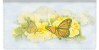 Click on Butterfly Blooms Checkbook Covers For More Details