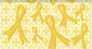 Click on Gold Ribbons of Support Fabric Checkbook Cover For More Details
