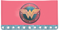 Click on Wonder Woman Comics Checkbook Cover For More Details