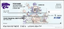 Click on Kansas State #1 Fan - 1 box Personal Checks For More Details