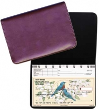Click on Burgundy Leather Top Stub Checkbook Cover For More Details