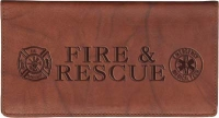 Click on Fire & Rescue Leather Checkbook Cover For More Details