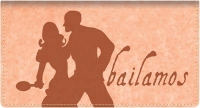 Click on Bailamos Fabric Checkbook Cover For More Details
