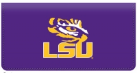 Click on LSU Leather Checkbook Cover For More Details