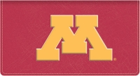 Click on Minnesota TM Leather Checkbook Cover For More Details