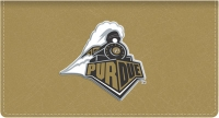 Click on Purdue TM Leather Checkbook Cover For More Details