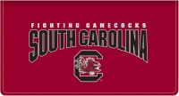 Click on South Carolina Leather Checkbook Cover For More Details