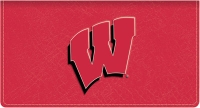 Click on Wisconsin TM Leather Checkbook Cover For More Details