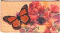 Click on Butterflies Leather Checkbook Cover For More Details