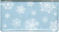 Click on Snowflake Fabric  Checkbook Cover For More Details