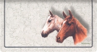 Click on Horses Fabric Checkbook Cover For More Details
