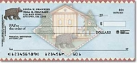 Click on Cabin Fever Scenic - 1 Box Personal Checks For More Details