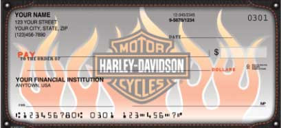 Click on Harley-Davidson Live the Legend Recreation - 1 Box Personal Checks For More Details