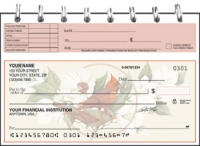 Click on Birds & Blossoms Top Stub Personal Checks For More Details