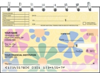 Click on Flower Power Top Stub Personal Checks For More Details