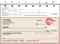 Click on Kiss It Goodbye Top Stub Personal Checks For More Details
