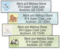 Click on Furry Friends Address Labels For More Details