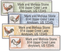 Click on Roosters Address Labels For More Details