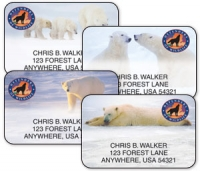 Click on Defenders Polar Bears Address Labels For More Details
