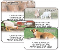 Click on Farm Sanctuary Address Labels For More Details