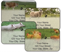 Click on Farm Sanctuary-A Compassionate World Begins with You Address Labels For More Details