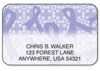 Click on Purple Ribbons of Support Address Labels For More Details