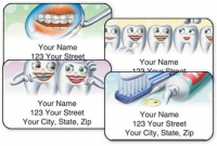 Click on Dental 2 Address Labels For More Details